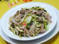 雪菜雷笋炒猪肚的做法
