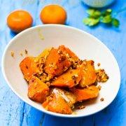 蒜蓉烤南瓜的做法