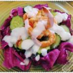 酸奶黄瓜虾