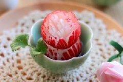 樱桃萝卜花的家常做法