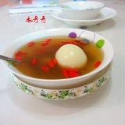 葡萄干枸杞煮蛋的做法