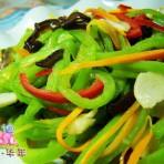 五彩蛇豆的做法
