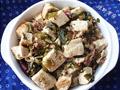 雪里蕻烩豆腐的做法