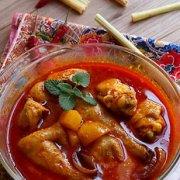 家乡咖喱鸡-光波炉制作家乡菜