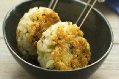香菇鸡肉米团的家常做法