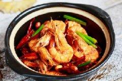 香辣干锅虾的家常做法