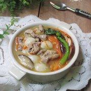 香菇排骨咸圆的做法