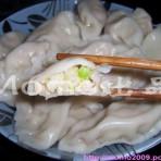 白菜虾皮饺