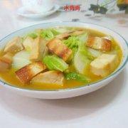 香干咖喱白菜的做法