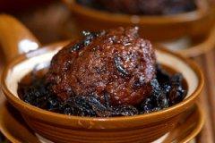 梅菜干烧肉丸的家常做法