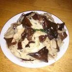 肉片木耳炒莲藕