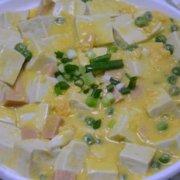 蟹黄豆腐家常做法的做法