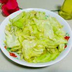 清炒圆白菜的做法
