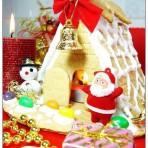 圣诞梦幻姜饼屋的做法