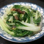 腊肉炒白菜