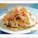 萝卜丝细虾的做法