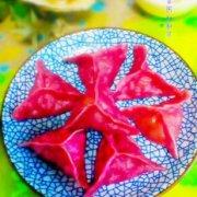 紫薯蒸饺的做法