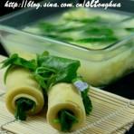 豌豆苗餐的做法