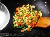 茭白蔬菜丁的做法