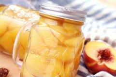 黄桃罐头的家常做法