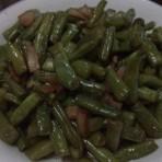 沙茶猪油四季豆的家常做法