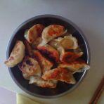 芹菜肉馅煎饺的做法
