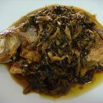 雪菜三线鱼