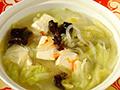 白菜豆腐炖粉条的做法