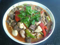 黑暗料理&豆腐的做法