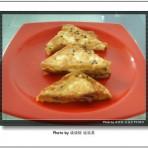 芝麻蛋煎豆腐的做法