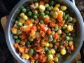 肉末豌豆玉米的做法