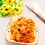 剁椒萝卜蒸子排的做法