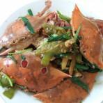 香辣姜葱蟹的做法