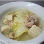 白菜肥肠煲的做法