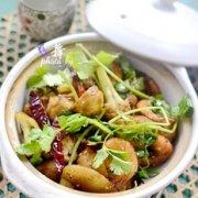 干锅什锦海鲜的做法