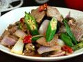 秋葵炒牛肉的做法
