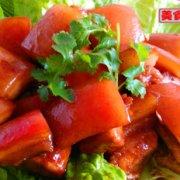 电压力锅蒸版红烧肉的做法