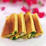 鸡蛋虾皮韭菜煎饼