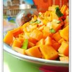 蒜香胡萝卜的做法