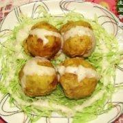 土豆章鱼小丸子的做法