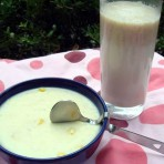芝士牛奶玉米粥的做法