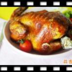 蒜香烤鸡的做法