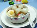 葡萄干鸡蛋荔枝的做法