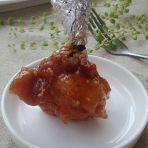 叉烧蒜香烤翅
