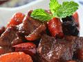 胡萝卜烧牛肉的做法