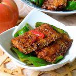 青椒烩带鱼