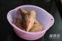 电烤箱烤红薯的做法
