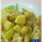 咖喱土豆焖鸡
