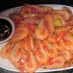 白灼小海虾