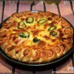 花边披萨的做法